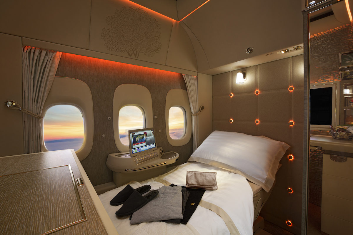 The New Emirates 1st Class Suites