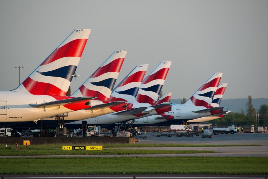Flight times from the UK