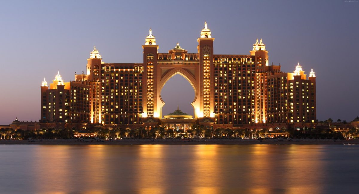 travelling to dubai - atlantis the palm