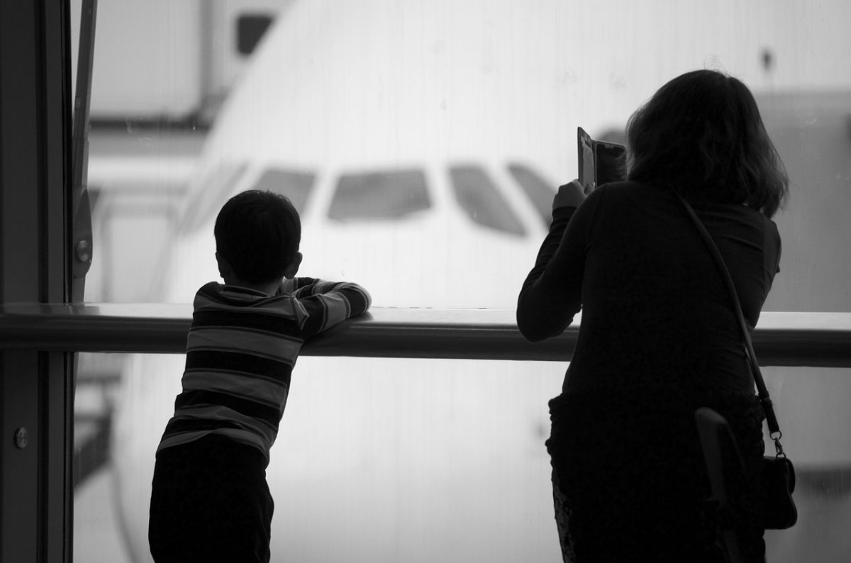 Tips for Making Flying with Kids Less Stressful