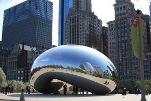 Cloud Gate - Chicago Bean
